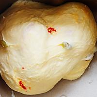 果馅面包——葡萄干枸杞吐司的做法图解5
