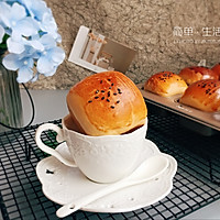 超软红豆小餐包(一次发酵法)