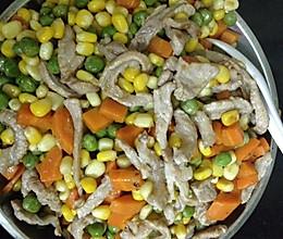 玉米彩豆的做法