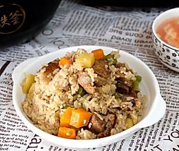 【93度铁定香】排骨豆角土豆焖饭的做法
