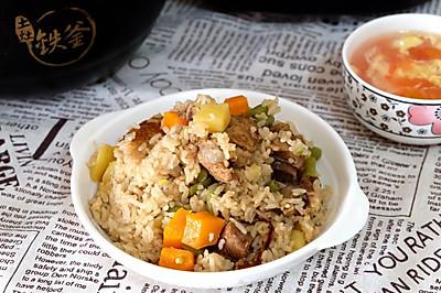 【93度铁定香】排骨豆角土豆焖饭