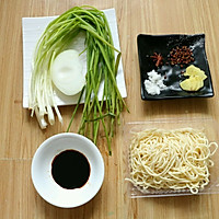 #硬核菜谱制作人#旧上海葱油面的做法图解1