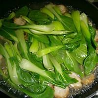 萝卜丸子青菜汤的做法图解2