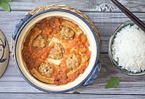 番茄豆腐酿肉煲的做法