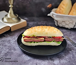 维也纳米面包(一次发酵)的做法