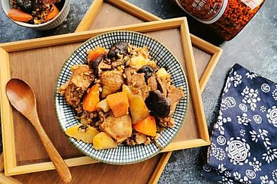 香噴噴—香燜土豆雞雜糧米飯