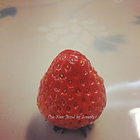 草莓玫瑰的做法图解5