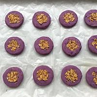 紫薯燕麦饼干的做法图解8