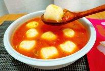 番茄鳕鱼丸汤的做法