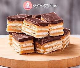#带着零食去旅行!#巧克力焦糖能量饼干的做法