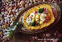 又是一年菠萝季|菠萝炒饭#舌尖上的春宴#的做法
