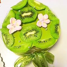 綠茶豆腐芝士蛋糕