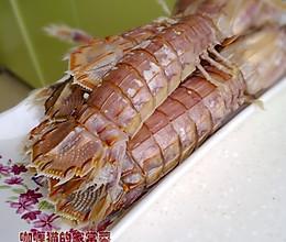 清蒸虾爬子的做法