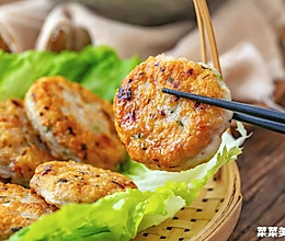 鲮鱼饼|金黄香脆的做法