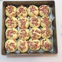 #秋天怎么吃# 一次发酵牛奶火腿小餐包的做法图解7