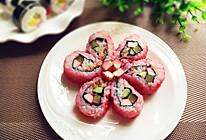 樱花寿司#浪漫樱花季#的做法