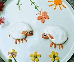 创意儿童餐可爱的小羊的做法