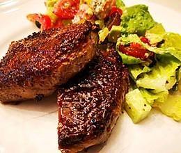 #肉食主义狂欢#香煎西冷牛排的做法