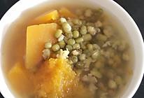 电饭煲版南瓜绿豆汤的做法