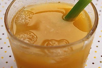 西芹香橙美颜汁