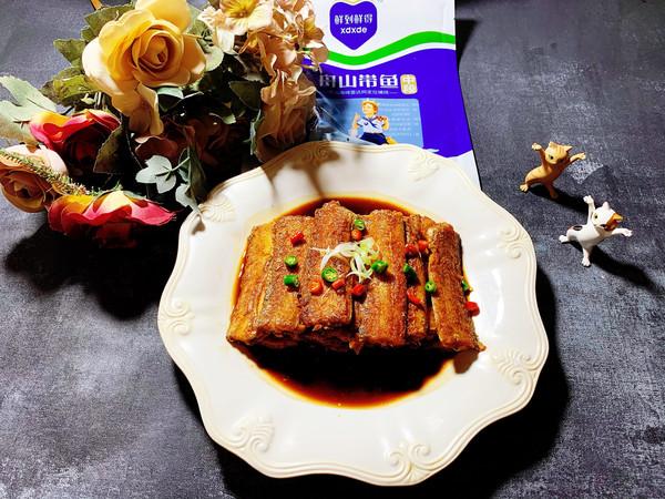 沙茶酱烧带鱼的做法