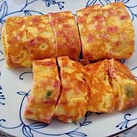 黄金早餐——芝士厚蛋烧的做法图解7