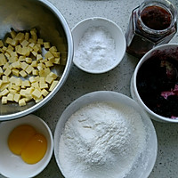 草莓果酱饼干#享美味#的做法图解1