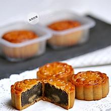 广式黑芝麻月饼
