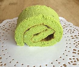 大麦若叶蛋糕卷的做法
