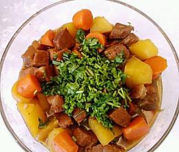 土豆炖牛肉(高压锅版)的做法