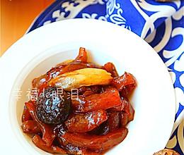 教你在家做鲜香嫩滑的宴客菜:[红烧蹄筋]的做法
