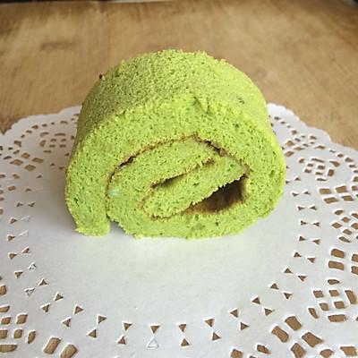 大麦若叶蛋糕卷