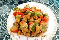 烤鸡肉串(烤箱版,有椒盐的做法噢)的做法