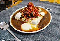 #精品菜谱挑战赛#豆腐蒸鸡蛋的做法