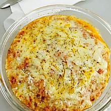 芝士番茄肉酱焗饭(微波炉版)(懒人版)