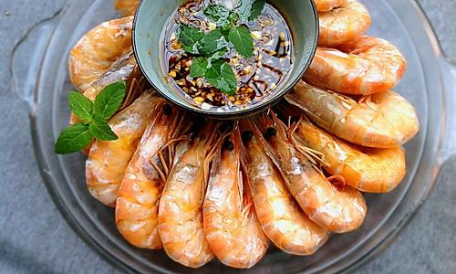 蒸大明虾的做法