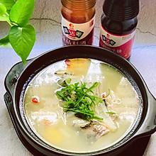 冬日暖食~鱼头萝卜汤