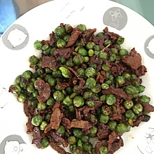 豌豆炒肉丝