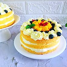 #夏日冰品不能少#轻裸蛋糕