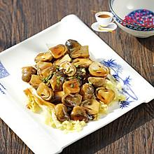 蚝油草菇扒娃娃菜