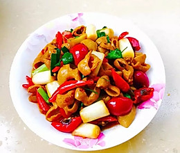 泡椒爆炒肥肠的做法
