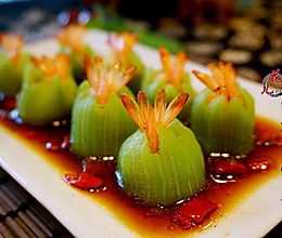 丝瓜鲜虾盅#元气挑战美一天#的做法