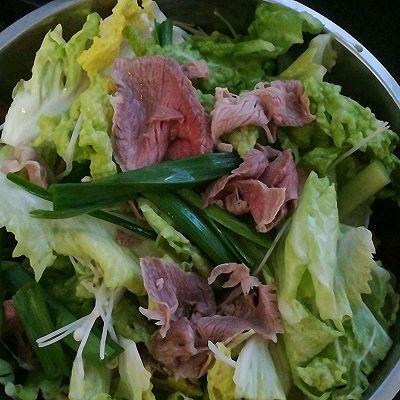 牛肉生参涮锅