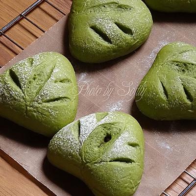 蜜豆抹茶三角包(附蜜豆的做法)