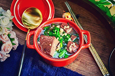 沙姜韭菜猪红
