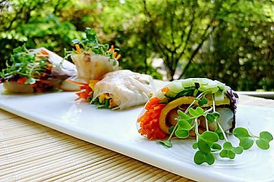 越南春卷/泰国春卷-低卡低脂减肥瘦身塑形-蜜桃爱营养师私厨