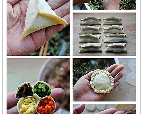 十种家常饺子包法的做法