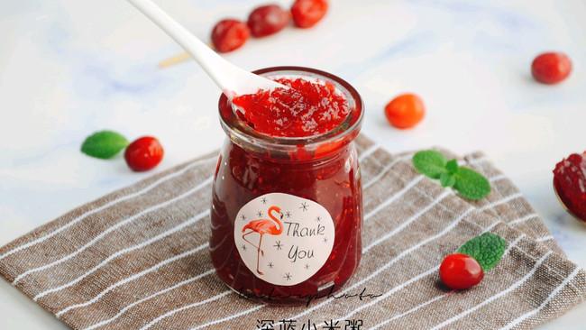 """#""""莓""""好春光日志#蔓越莓果酱的做法"""