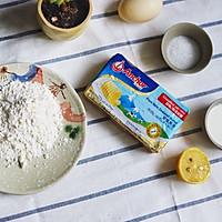 宝宝也能吃的花环蒸蛋糕#安佳儿童创意料理#的做法图解1