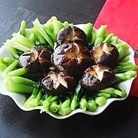 蚝油香菇青菜#人人能开小吃店#的做法图解15